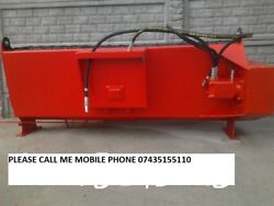 Brand New Telehandler Bucket Mixer Hyd Drive 400 Liters From 4ft. Wide To 6ft