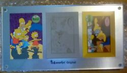 The Simpsons Trading Card Printing Plate