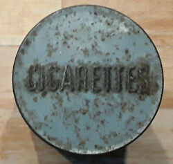 Army Anglo Canadian Cigarette Case Ww2 ,tobacco Ration Tin Militaria