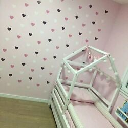 Heart Wall Sticker For Kids Room Hearts Girl Room Decorative Stickers Wall Decal