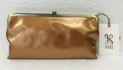 Hobo Bags Genuine Leather Lauren New Penny Clutch Wallet Coin Purse Retail $148
