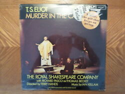 Sealed Uk Argo 2lp Vinyl/ts Eliot/murder In The Cathedral/royal Shakespeare Co