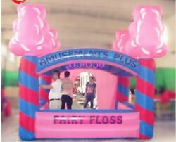 Commercial Inflatable Cotton Candy Food Drink Concession Stand Tent Booth New