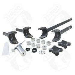 Yukon Gear Front 4340 Chrome-moly Replacement Axle Kit For 77-91 Gm / Dana 60 W/