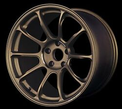Rays Ze40 19x8.5j/9.5j +38/+40 5x114.3 Bronze For Lexus Set Of 4 From Japan