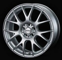 Tomand039s Tm-05 17x7.0j +48 5x100 Silver Wheels For Toyota 86/subaru Brz From Japan