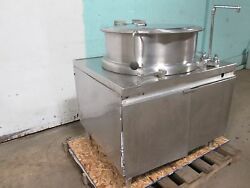 Market Forge H.d. Commercial Direct Steam 40gals Steam Jacketed Kettle