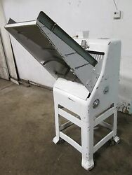 Oliver 797-32 Hd Commercial Free-standing Gravity-fed Andfrac12 Bread Slicer Machine