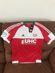 Adidas New England Revolution Mls Soccer Jersey Nwt Size Xl Youth