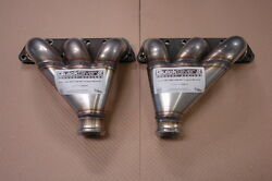 Aston Martin Db2 Db2/4 Stainless Steel Exhaust Manifold Set Cupped Type