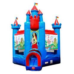 Brave Knight Commercial Inflatable Bounce House With Blower Deluxe Jump Castle