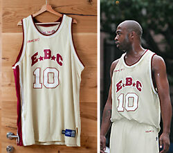 Game Used Jamaal Tinsley Rucker Park Ebc Entertainers Jersey Nyc / Nba Pacers