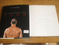 For A Definition Of The Nude By D. Yeros Signed Copy Hardback 2000
