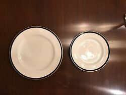Lot Spode Fine China Consult Cobalt 8 Dinner Plates And 8 Salad Plates Never Used