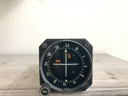 Bendix/king Ki-204 Vor/loc/ And Glideslope Indicator With Fresh Faa Form 8130-3