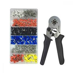 Crimper Plier Set VLIKE Wire Crimping Tool Kit w1200 Terminal Connector...