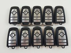 LOT OF 10 FORD EXPEDITION 18-19 REMOTE SMART KEY LESS ENTRY 5-BUTTON ALARM OEM