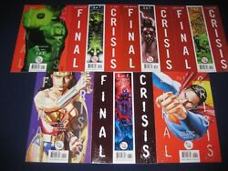 Final Crisis Complete Story And Tie Ins 28 Issues Total Superman Batman Wonder
