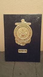 99 U.s. Navy School Yearbook, The Keel, Great Lakes, Il With Autographs