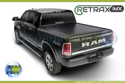 RetraxPRO MX Tonneau Cover WO Stake Pockets For Frontier 5ft Bed Crew Cab 05-18