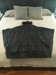 PORSCHE DESIGN PCNA PORSCHE RACING RAIN CAPE PONCHO WSEWN IN STORAGE POUCH. NEW