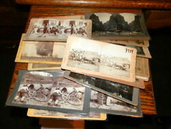 8162,collection 26 Vintage Stereoviews,1800's Quite A Few Seldom Seen,nice Lot