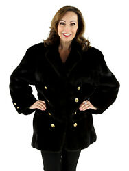 Woman's Blackglama Mink Fur Jacket