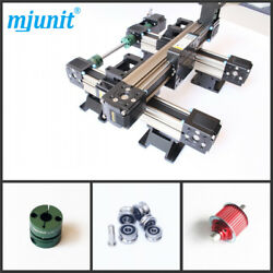 Mjunit Spindle Linear Lineal Line Rail Mini Cnc 2 Axis With 600x1200mm Stroke