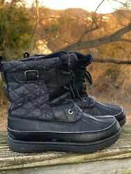Insulated Quilted Hiking Boots J Crew Outlet Walking Wilderness Shoes Sz 6 👠b13