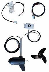 S400-48v 180lb Electric Boat Trolling Motor With Speed Controller Saltwater, Diy