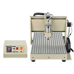 4 Axis CNC  ROUTER ENGRAVER ENGRAVING DRILLING MACHINE 3D CUTTER + HANDWHEEL