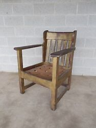 Stickley Brothers Mission Oak Arts And Crafts Chair