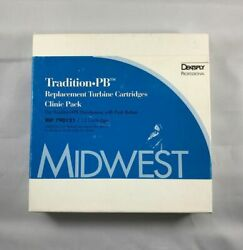 Pack Of 12 Midwest Dentsply Dental Tradition Push Button Replacement Cartridge
