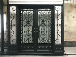 Priced to Sell & Ready to Ship! Custom Wrought Iron Door 106