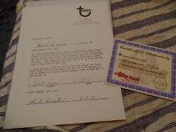 Bobby Wine Signed 1971 Montreal Expos Topps Vault Baseball Card Contract