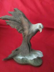 Rick Cain 10 Limited Edition Sculpture Bald Eagle Figurine Numbered 2265/5000