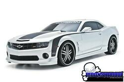 10-13 Gm Chevy Camaro Ss V8 3d Carbon Complete 9pc Touring Body Styling Kit