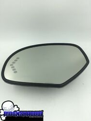 2010 10 Gm Chevy Avalanche Oem Drivers Side Heated Turn Signal Mirror Glass