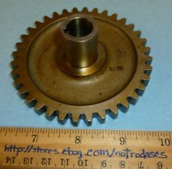 Lycoming P/n 68467 Gear Shaft Oil Pressure And Scavenge Drive Aviation/aircraft