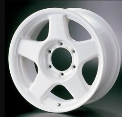4x4 Engineering Bradley V 16x6.5j -5 6x139.7 Pearl White For Lc70 From Japan