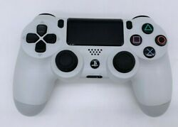 Official Sony Ps4 Playstation 4 Dualshock 4 Wireless Controller Glacier White Vg