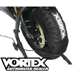 Vortex Tire Warmers 120, 180/200 Front/rear Tires Motorcycle Track Day Tw101