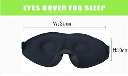 3D Eyes  Mask for Sleep Block Out Light 100% Eye Shade Cover