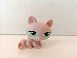 Littlest Pet Shop Crouching Kitty Kitten Cat 1345 Authentic Lps VARIANT FIGURE