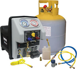 Twin Turbo Refrigerant Recovery Machine For All R134a Applications Including...