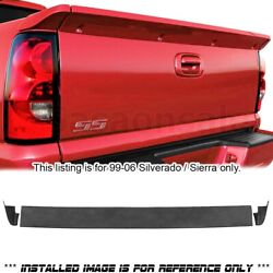 Fit For 1999-2006 Chevy Silverado 1500 Ss Intimidator Rear Pu Tail Wing Spoiler