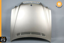00-06 Mercedes W215 Cl500 Cl600 Cl55 Hood Cover Panel Assembly Desert Silver Oem