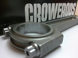 Crower Titanium Connecting Rods For 90-01 Acura Integra Ls/gs/rs B18a/b
