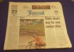 June 11th 2004 Sioux City Journal Newspaper Ray Charles Dies Perry Creek Flood