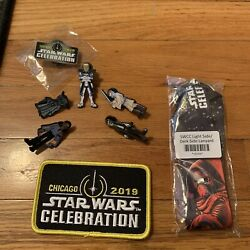 Complete Full 53 Pin Set All Chase Star Wars Celebration Chicago 2019 Plus Xtras